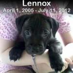 Lennox non c'è più…