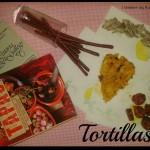 Tortillas de chorizo sin gluten al perfume de menta y setas (Tortillas de chorizo senza glutine al profumo di menta e funghi)