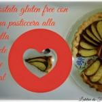 Crostata gluten free con crema pasticcera alla nutella e mele rosse royal