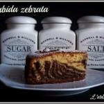 Torta morbida zebrata gluten free