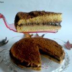 Pan di Spagna al teff con ganache al cioccolato fondente e cocco