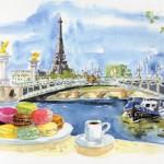 Je rêve Paris,Ladurée et les macarons…