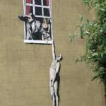 Bansky, quando un graffito diventa un'opera d'arte