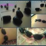 Bracciale, anello e spilla di perle