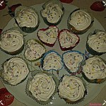 Cupcake al profumo di vaniglia (con e senza glutine, senza lattosio e vagan)