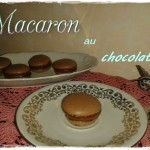 Macaron au chocolat (senza glutine)