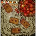 Mini plumcake alla ciliegia senza glutine