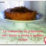 Cheesecake al fondente gluten free ultra facile e leggero