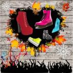 Scarpe: Le nuove tendenze dell' autunno-inverno 2014-2015 (anfibi, platform, vernice, velluto, a carro armato)