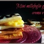 Mini millefoglie gluten free