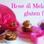 Rose di mela senza glutine al profumo di cioccolato