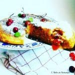Torta di ciliegie in padella senza glutine