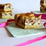 Focaccia dolce alla ricotta con gocce di cioccolato senza glutine