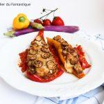 Peperoni cornelio ripieni con melanzana perlina senza glutine